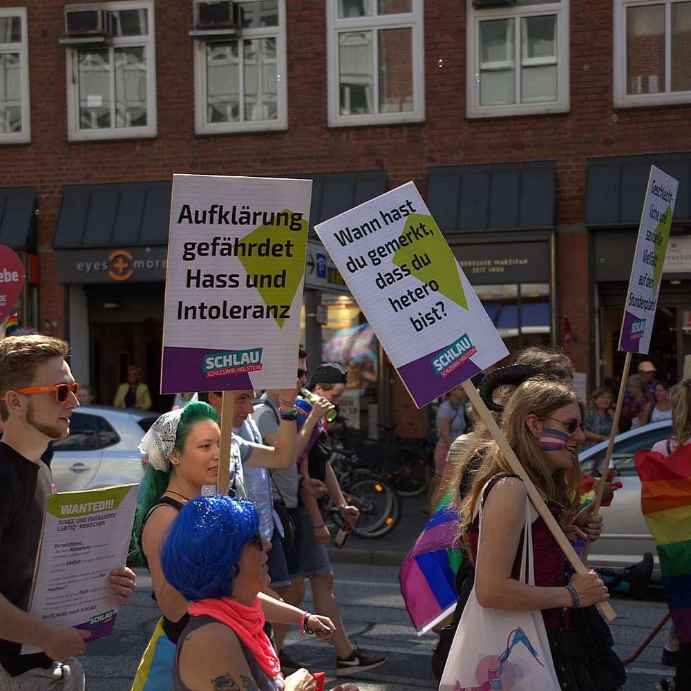 Lübeck Pride - Demonstration #2 - Bild 62
