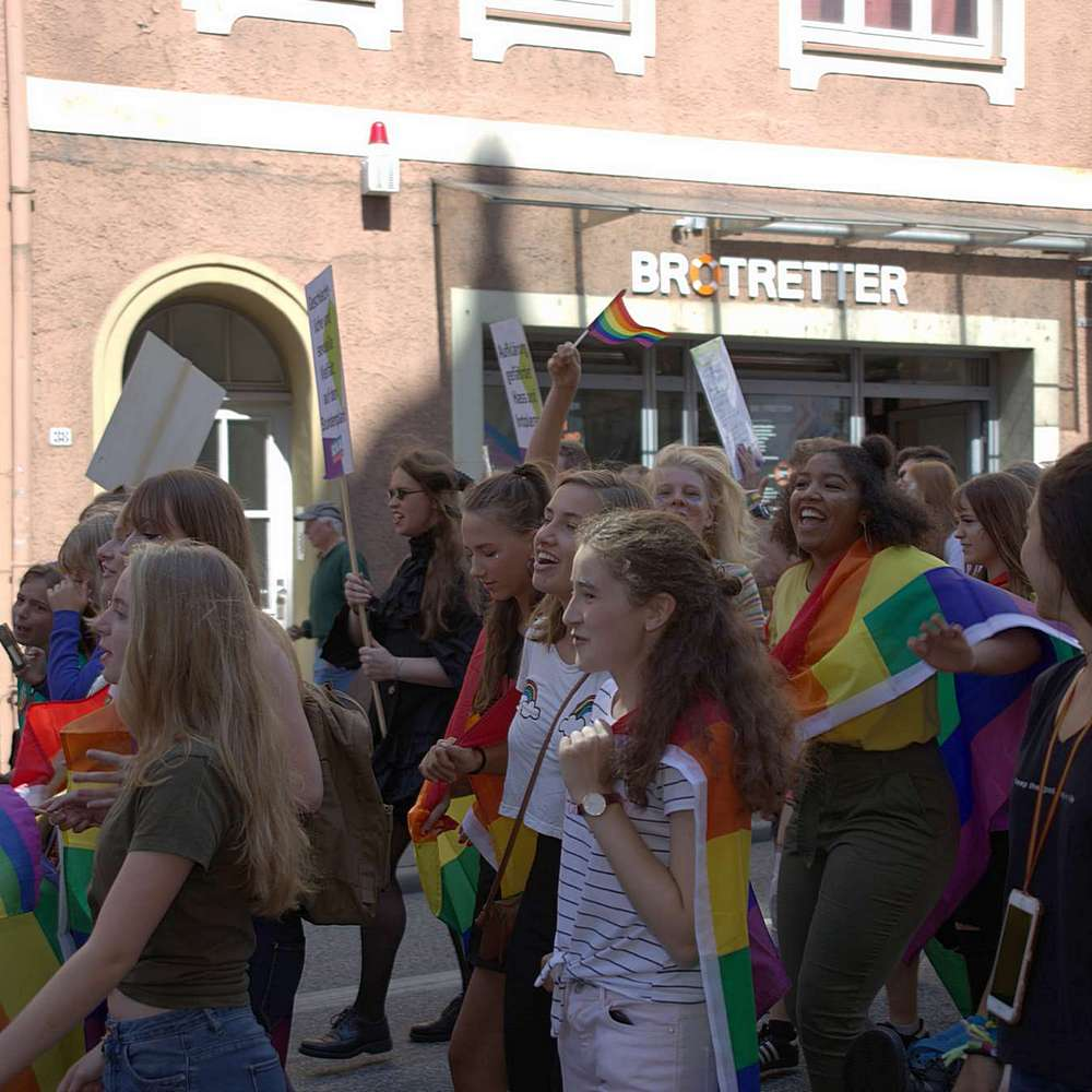Lübeck Pride - Demonstration #2 - Bild 69
