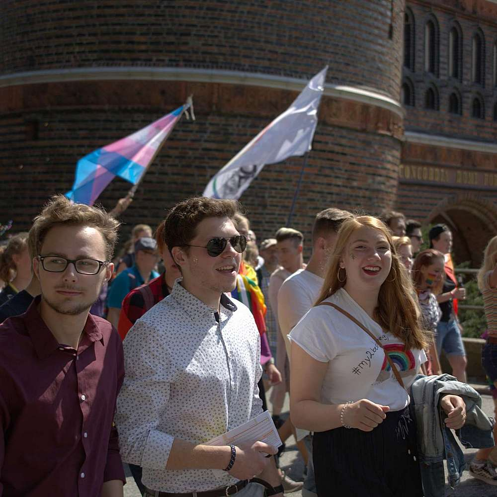 Lübeck Pride - Demonstration #2 - Bild 73