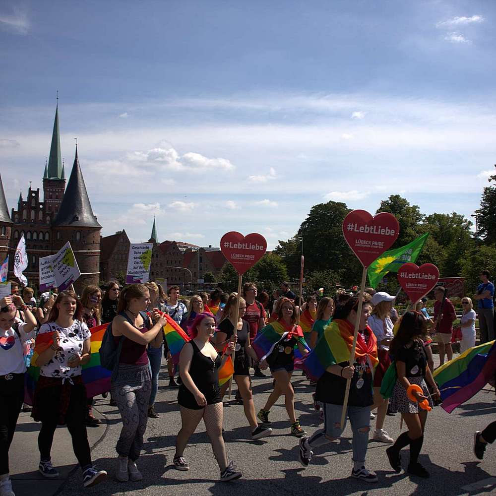 Lübeck Pride - Demonstration #2 - Bild 78