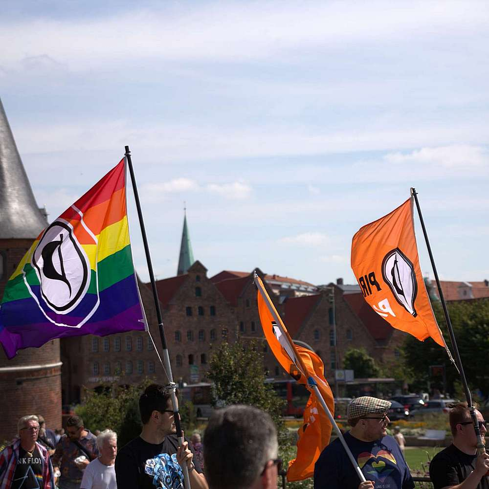 Lübeck Pride - Demonstration #2 - Bild 90