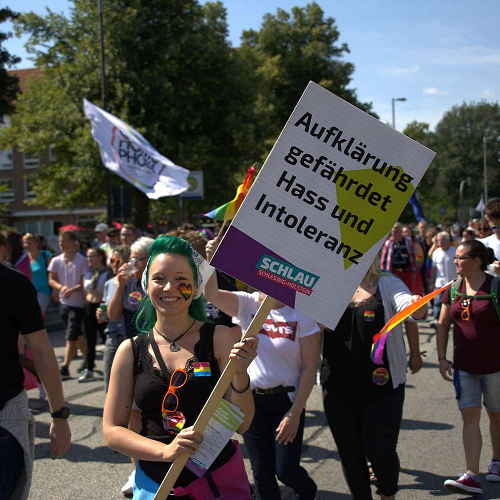 Lübeck Pride - Demonstration #2 - Bild 108
