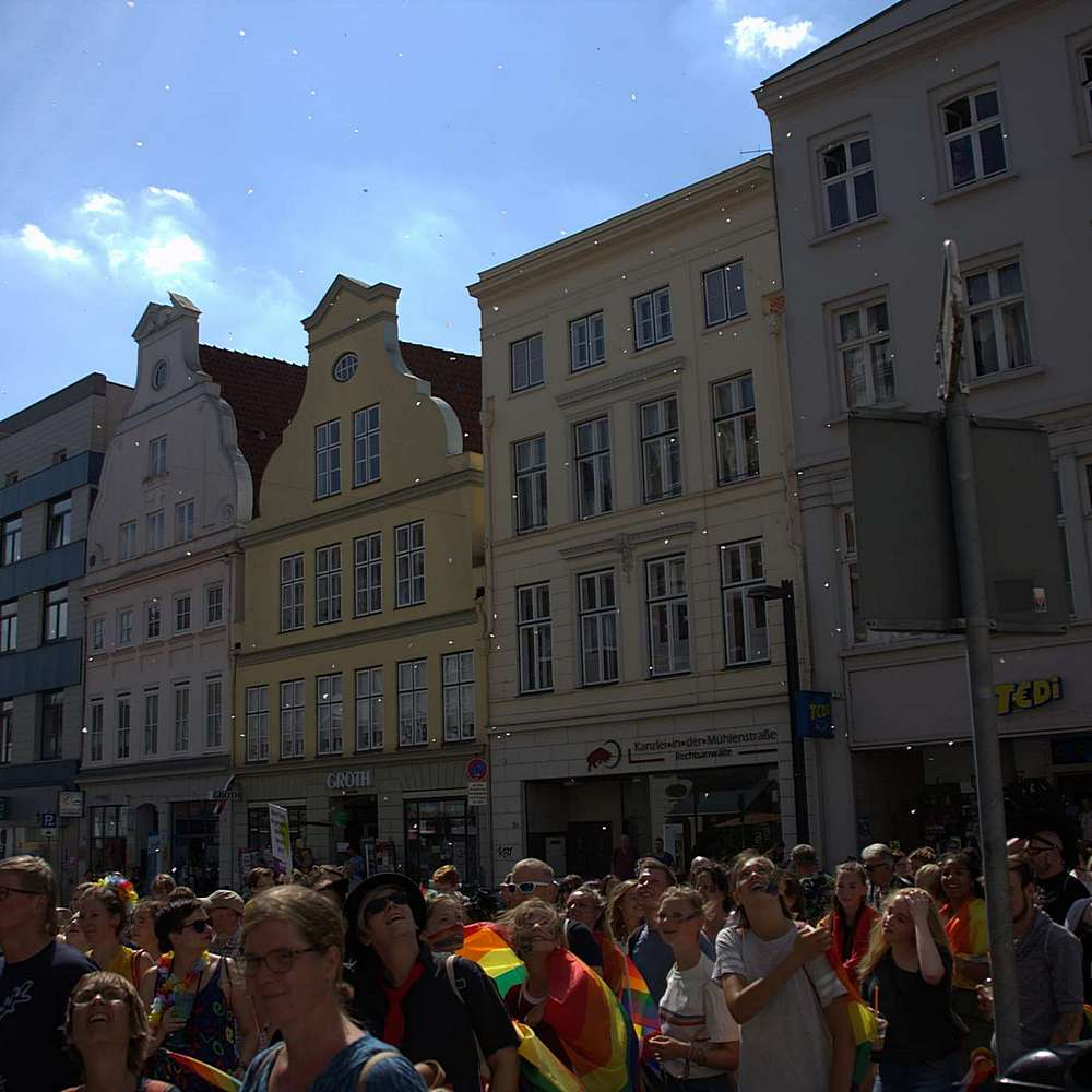 Lübeck Pride - Demonstration #2 - Bild 129