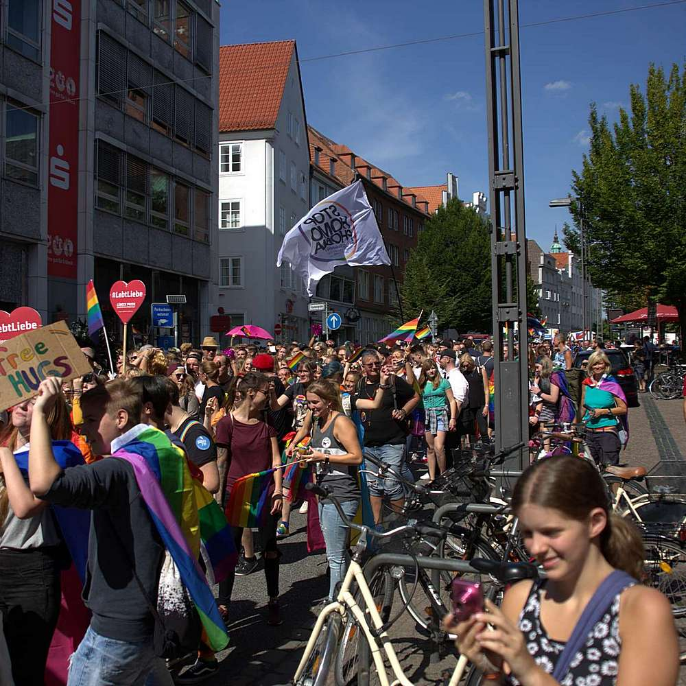Lübeck Pride - Demonstration #2 - Bild 191