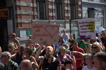 Lübeck Pride - Demonstration #2 / 461x betrachtet