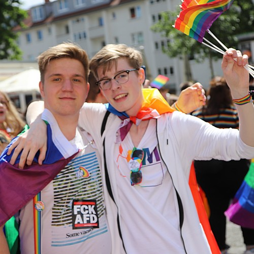 CSD Hannover - Demonstration & Strassenfest - 292x betrachtet
