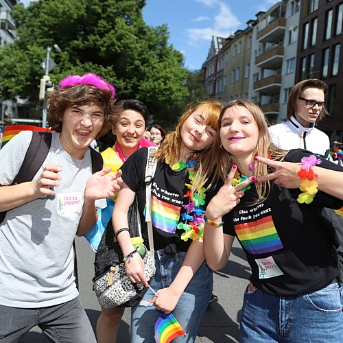 CSD Hannover - Demonstration & Strassenfest - 684x betrachtet