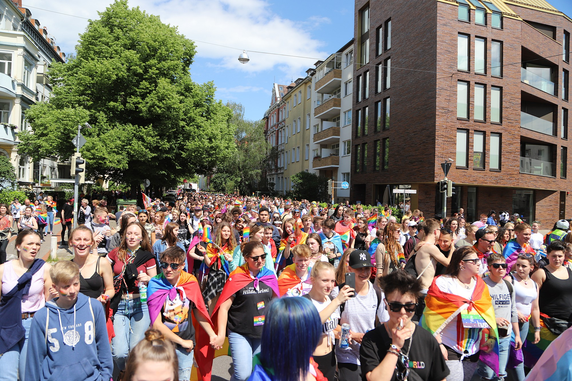 CSD Hannover - Demonstration & Strassenfest / 537x betrachtet
