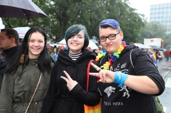 CSD Kiel - Demonstration & Straßenfest / 260x betrachtet