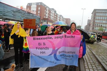 CSD Kiel - Demonstration & Straßenfest / 430x betrachtet