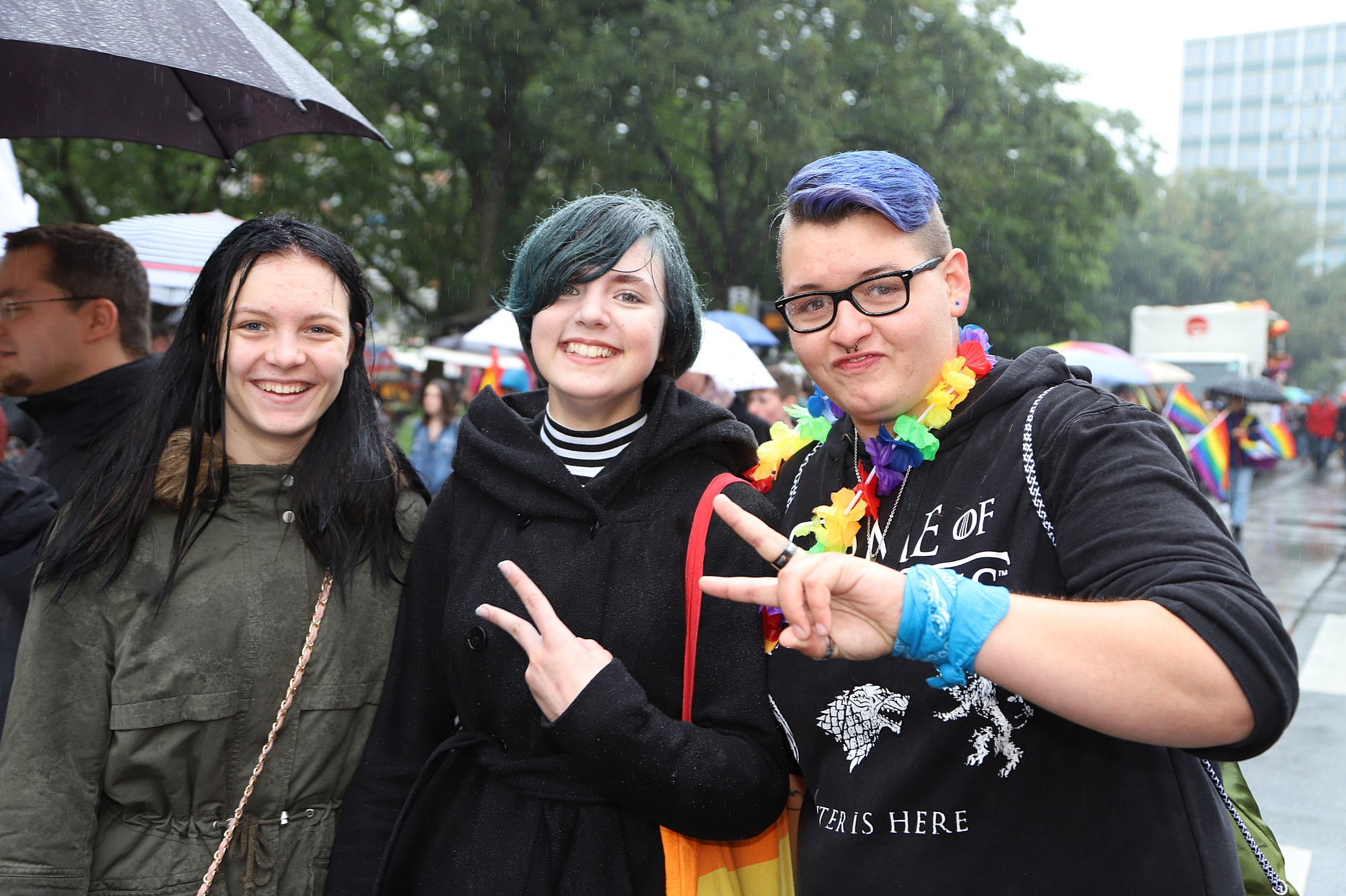 CSD Kiel - Demonstration & Straßenfest / 467x betrachtet