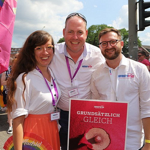 Hamburg Pride - Demonstration  - Bild 74