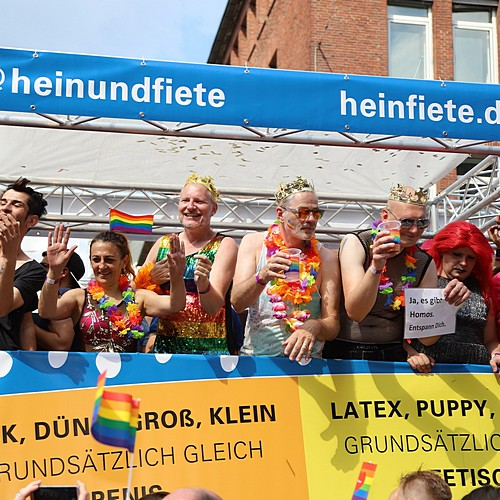 Hamburg Pride - Demonstration  - Bild 123