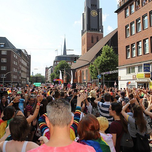 Hamburg Pride - Demonstration  - Bild 131