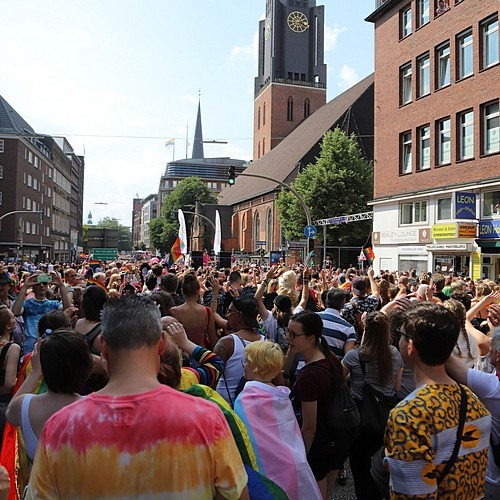 Hamburg Pride - Demonstration  - Bild 133