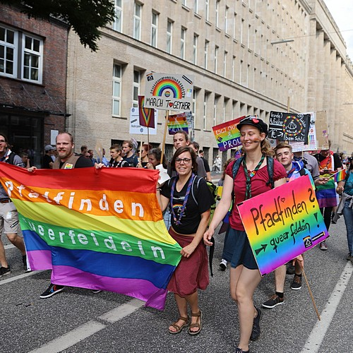 Hamburg Pride - Demonstration  - Bild 170