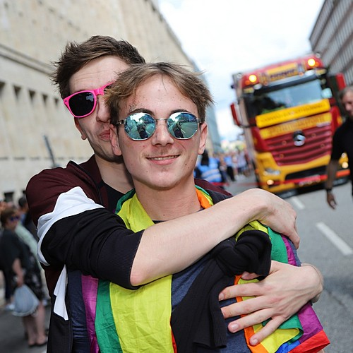 Hamburg Pride - Demonstration  - Bild 172
