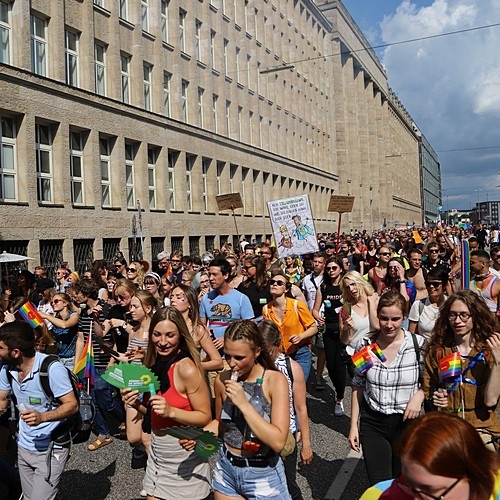 Hamburg Pride - Demonstration  - Bild 247