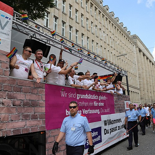 Hamburg Pride - Demonstration  - Bild 255