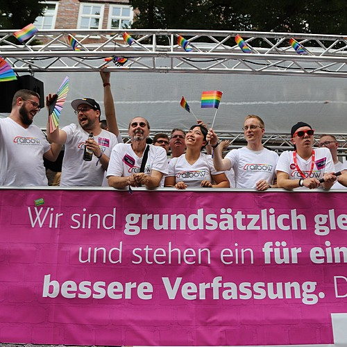Hamburg Pride - Demonstration  - Bild 259