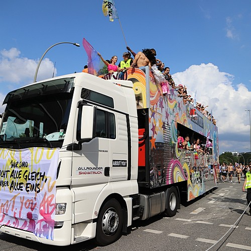 Hamburg Pride - Demonstration  - Bild 320