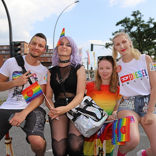 Hamburg Pride - Demonstration  - Bild 326