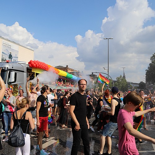 Hamburg Pride - Demonstration  - Bild 366