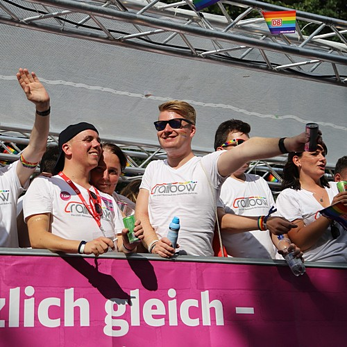 Hamburg Pride - Demonstration  - Bild 388