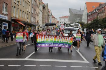 Lübeck Pride - Demonstration & Strassenfest / 108x betrachtet
