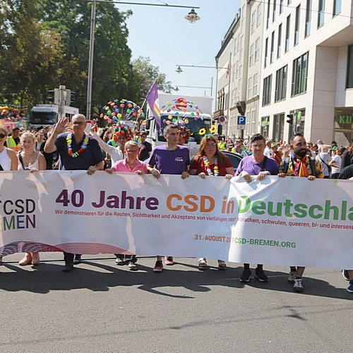 CSD Bremen Demonstration - Bild 34
