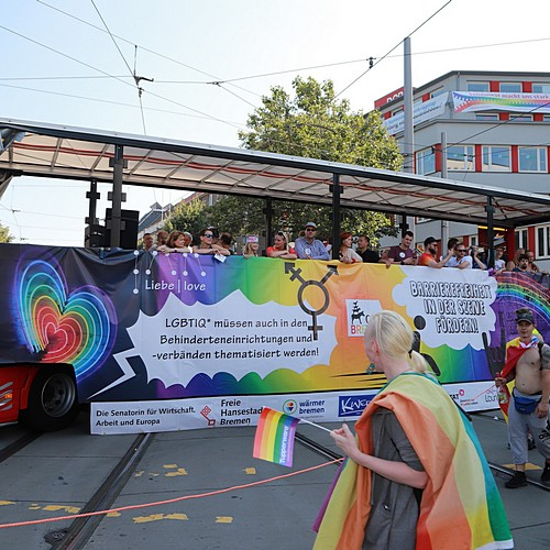 CSD Bremen Demonstration - Bild 83
