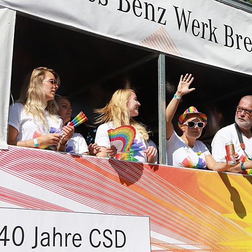 CSD Bremen Demonstration - Bild 3