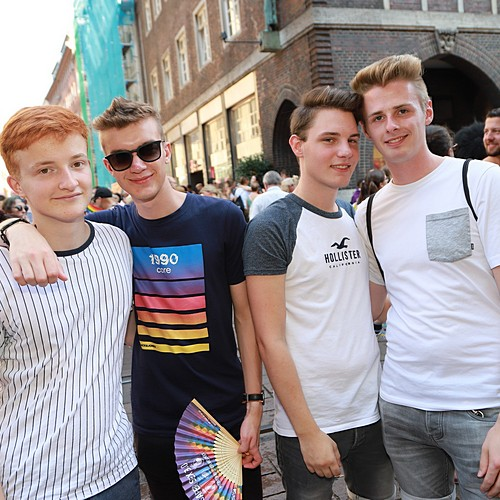 CSD Bremen Demonstration - 1037x betrachtet
