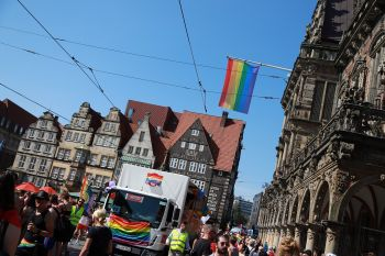 CSD Bremen Demonstration / 695x betrachtet